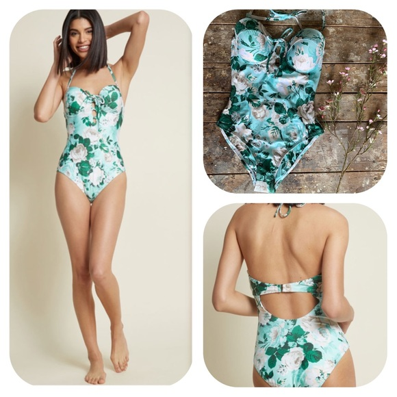 Modcloth Other - ModCloth High Dive Sunny Disposition Swimsuit